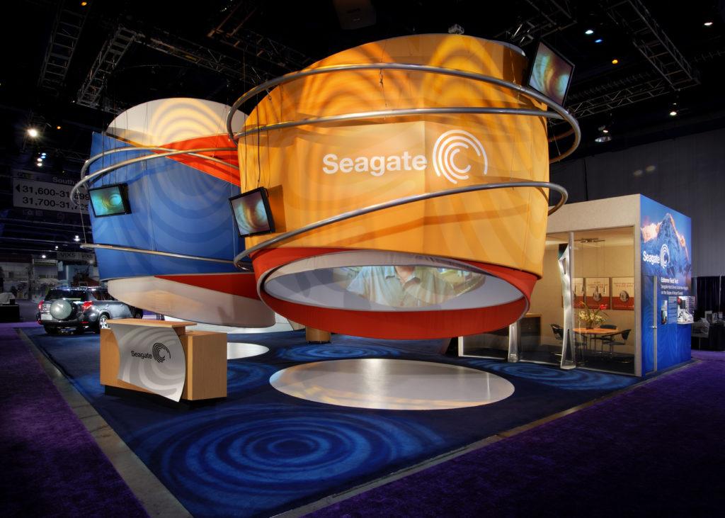 Seagate Exhibit CES 2006, Las Vegas Exhibitworks Padgett and Company Job#2656 Image#02